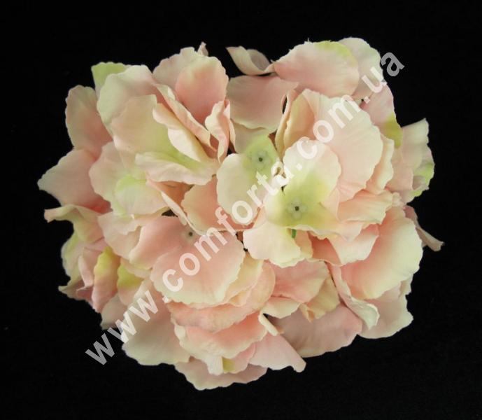 Головка гортензии нежно-розовая, d ~ 15 см