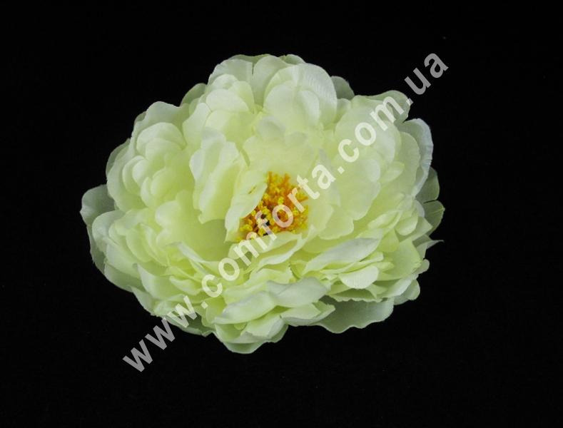 Головка пиона кремовая, диаметр ~ 14 см, цветок искусственный