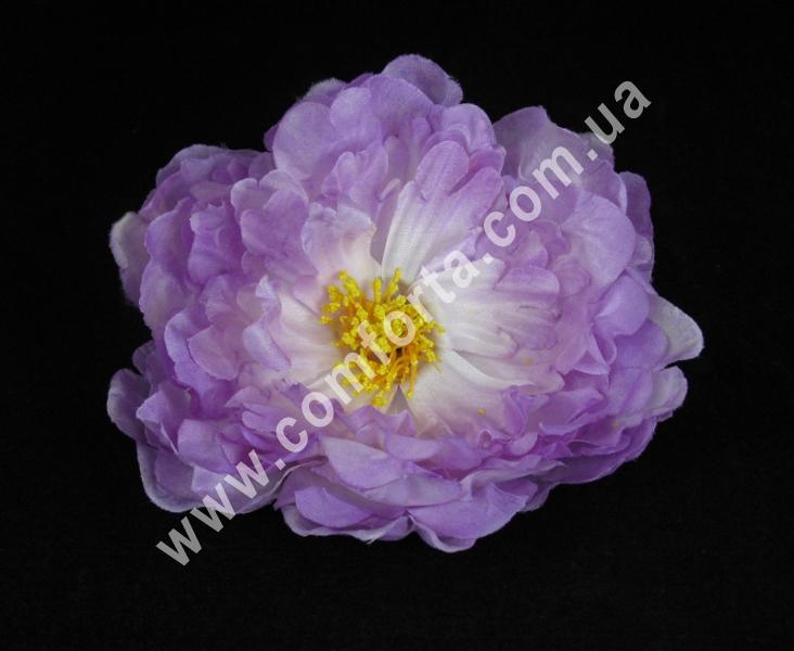 Головка пиона нежно-сиреневая, диаметр ~ 14 см, цветок искусственный