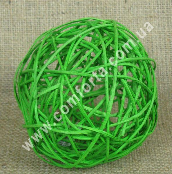 шарик из ротанга
