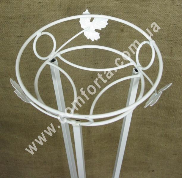 цветочная стойка для оформления свадьбы, высота - 130 см, диаметр - 21см