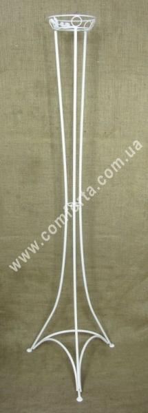 свадебная подставка для флористических композиций, высота - 175см, диаметр - 21см