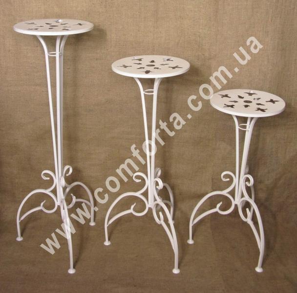 подставки для цветочных композиций, материал - металл