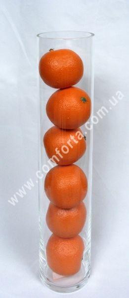Стеклянная ваза цилиндр