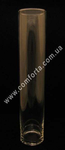 стеклянный цилиндр, высота - 51 см, диаметр - 10 см