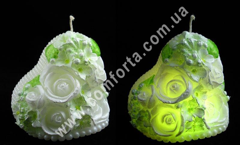 декоративная свеча со светодиодом