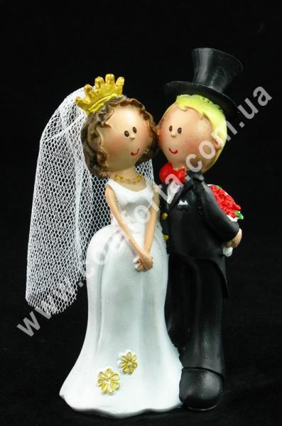 свадебные фигурки молодоженов для торта