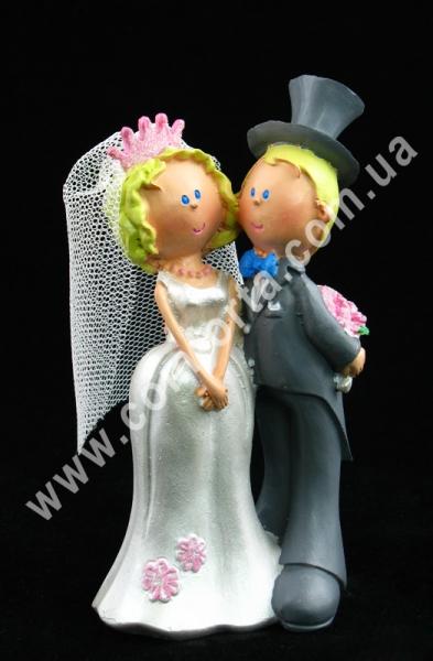 свадебная фигурка молодоженов для торта
