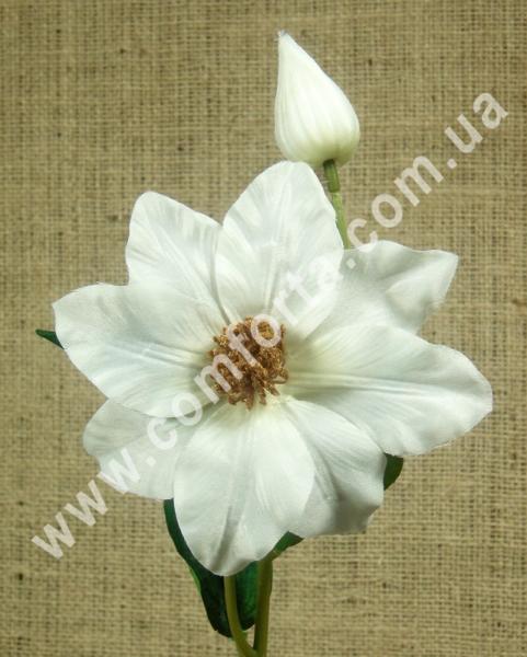 клематис искусственный цветок