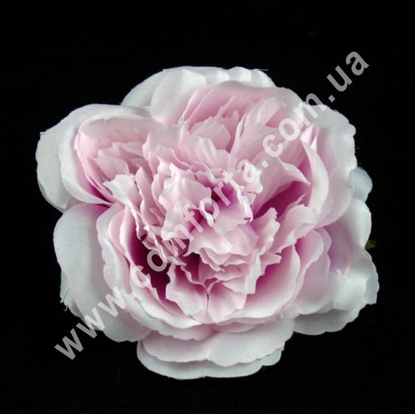 Головка розы, d-11см, цветок искусственный