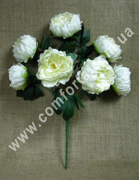 букет пионов искусственный цветок