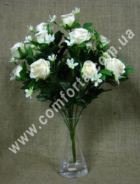 букет роз искусственных