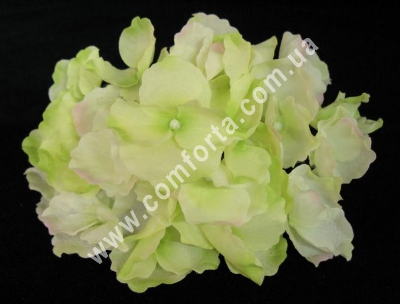 головка гортензии, цветок искусственный