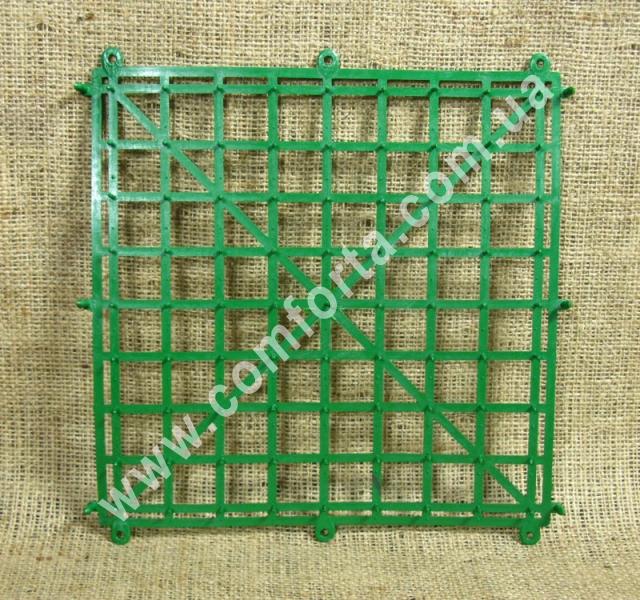 пластиковая основа коврик с шипами, размер - 25 х 25 см