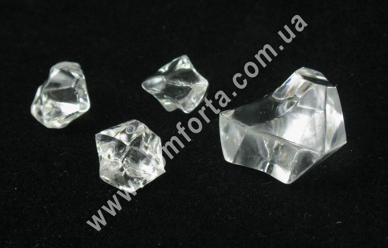 кристаллы декоративные, кристаллы акриловые, искусственный лед