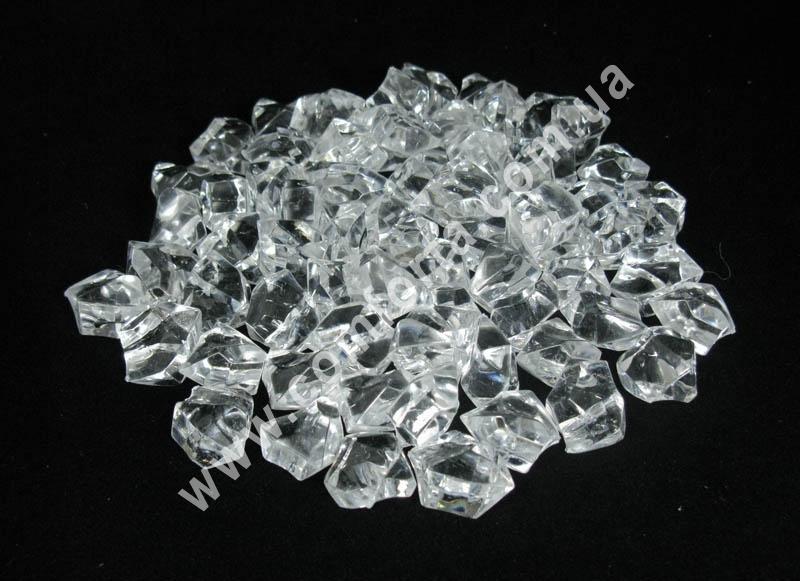 искусственный лед, декоративные акриловые кристаллы, декоративные камешки
