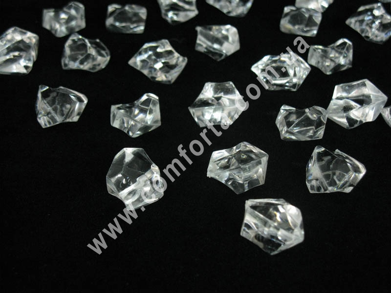 искусственный лед, декоративные кристаллы из акрила