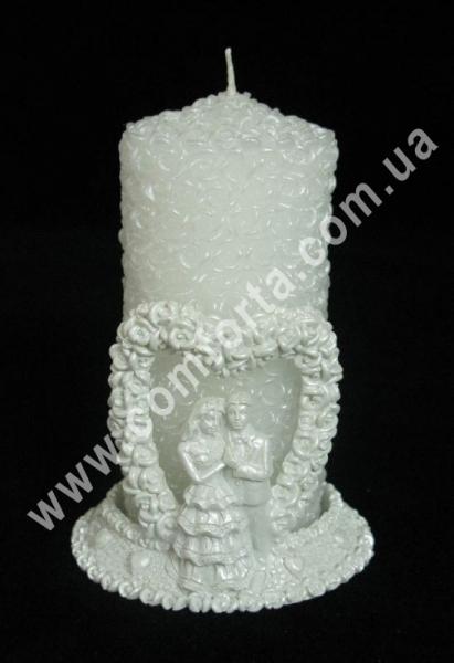 свадебная свеча семейный очаг с подсвечником