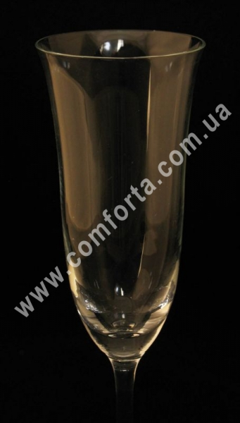 свадебные бокалы без декора, высота ~ 23 см, диаметр ~ 6 см