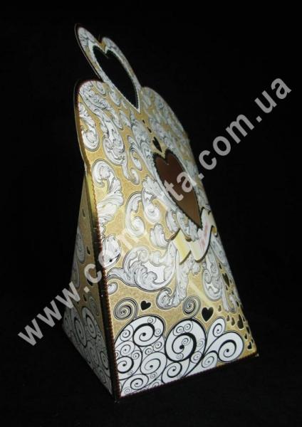 свадебная копилка для сбора денег, высота - 40 см, ширина - 35 см, длина - 18 см, материал - картон